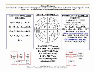 Formula For Watts Law Website And Software Programs ...
