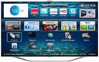 Smart Hub Tv Samsung Screen Interactive