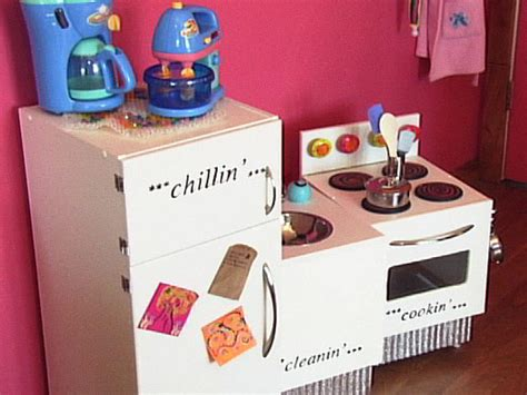How To Build Toy Appliances For A Kid's Kitchen  Howtos