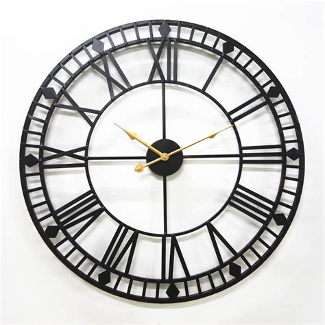 Buy the best and latest wall clock decor on banggood.com offer the quality wall clock decor on sale with worldwide free shipping. Large Metal Wall Clock Modern Design European Antique ...