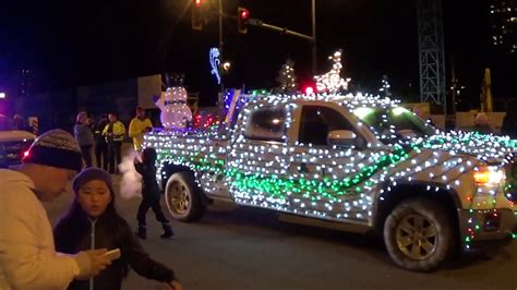 christmas truck parade youtube