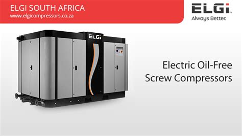 Oil Free Electric Powered Screw Compressors South Africa