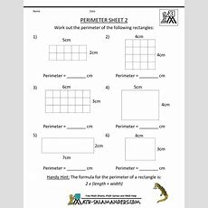 Math Salamanders  3rd Grade Perimeter Worksheets  Math For Third Grade  Pinterest Perimeter