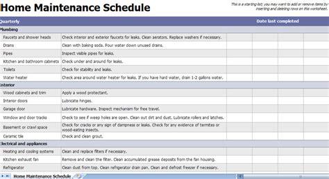 home repair checklist template home maintenance checklist home maintenance template