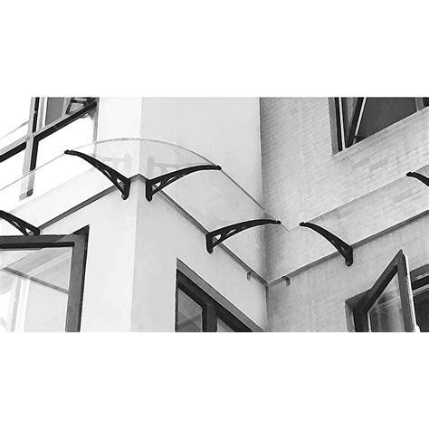tettoia per esterno angolo elemento esterno per pensilina da parete tettoia in