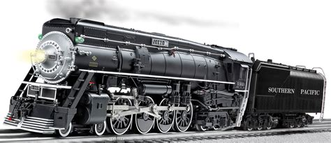 lionel o guage western pacific gs 4 class southern pacific legacy scale 4 8 4 gs 6 black 4460
