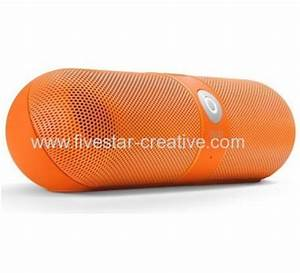 Beats by Dr Dre Pill Bluetooth Wireless Speakers Neon