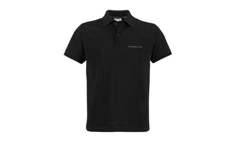 poloshirt herren schwarz polo shirt schwarz poloshirts herren porsche driver