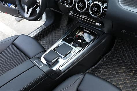 The and now the revolution is set to continue: For Mercedes Benz B Glb Class W247 X247 2020 Abs Chrome Carbon Fiber Car Center Console ...