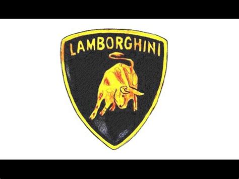 como dibujar el logo de lamborghini paso  paso simbolo
