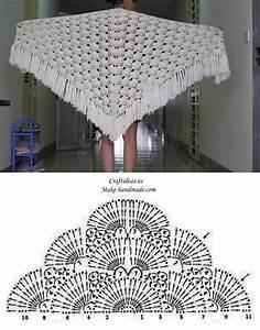 Crochet Beauty Lace Shawl