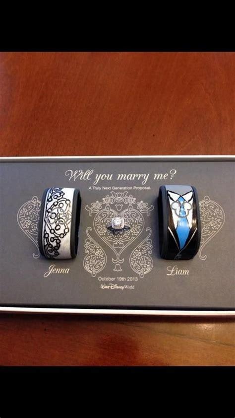 disney magic bands   engagement ring  generation