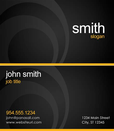 Busness Card Template by Business Card Templates Order Business Cards Panasall
