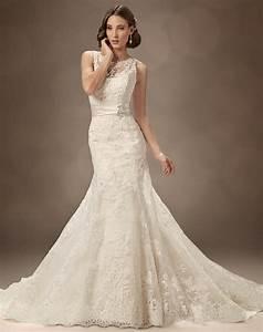 25 Beautiful Vintage Lace Wedding Dresses Ideas - MagMent