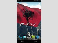 Android用3D flag of Albaniaを無料でダウンロード。アンドロイド用アルバニアの国旗 3Dライブ壁紙。