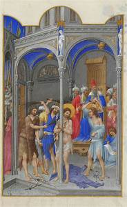 The, Flagellation, -, Limbourg, Brothers
