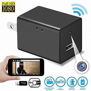 Camera Wifi Iphone : wireless hidden spy camera nanny cam video recording ~ Voncanada.com Idées de Décoration