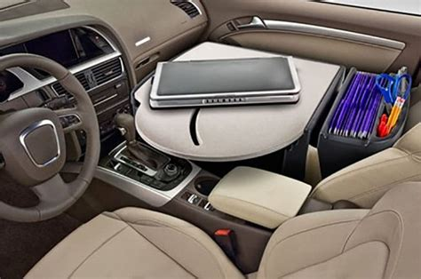 Car Desk by Car Desk Turn Your Car Into A Portable Office
