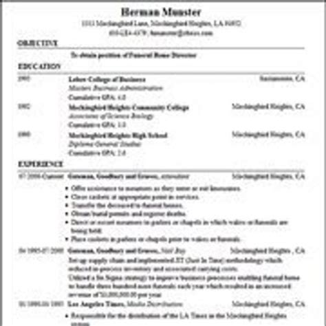 Free Resume Bulider by Free Resume Builder Resume Wizard