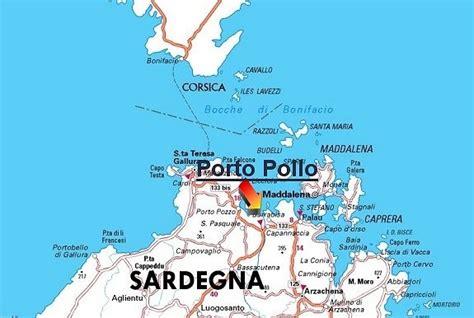Sardegna Porto Pollo by Mappa Di Porto Pollo Sardegna Porto Pollo