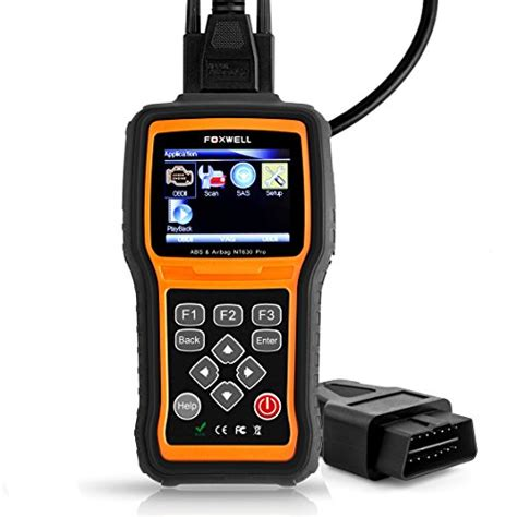 car scanner pro foxwell nt630 pro automotive abs scanner obd2 obd ii code import it all