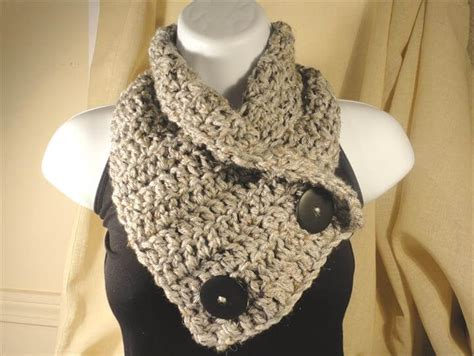 easy  crochet neck warmer patterns