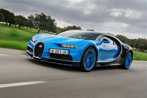 2018 Bugatti Chiron First Drive Review