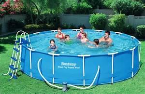 Pool 3 66 X 1 22 : baz n bestway s konstrukc 3 66 x 1 22 m set ~ Kayakingforconservation.com Haus und Dekorationen