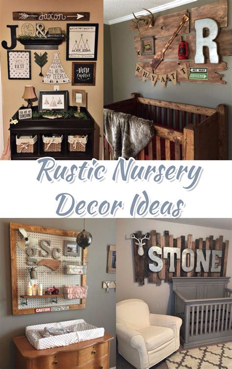 rustic nursery themes pictures decor ideas april forest
