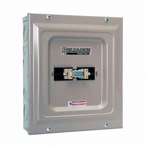 60 Amp Indoor Utility Generator Transfer Switch Double