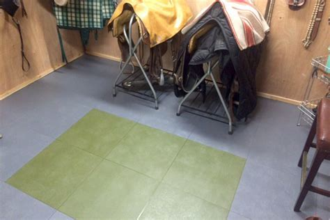 Smooth Flex Tiles   Recycled PVC Garage Floor Covering