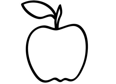 apple coloring pages  preschoolers coloringpages