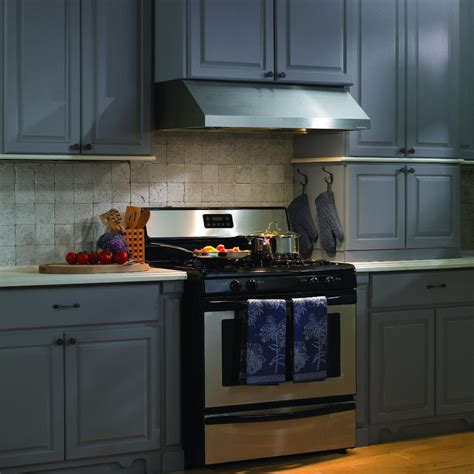30 stainless steel range hood under cabinet vent a hood 30 inch 300 cfm professional series under