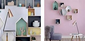 Etagere Murale Maison : etagere bois deco ~ Teatrodelosmanantiales.com Idées de Décoration