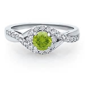 helzberg wedding rings helzberg symphonies 7 8 ct tw green white engagement ring in 14k gold