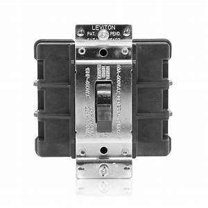 Leviton 60 Amp 600 Volt Industrial Grade Double Pole