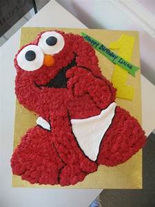 Pin Baby Elmo Cake Ideas and Designs