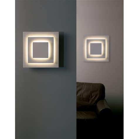 endon 91289 1 light modern low energy wall light white
