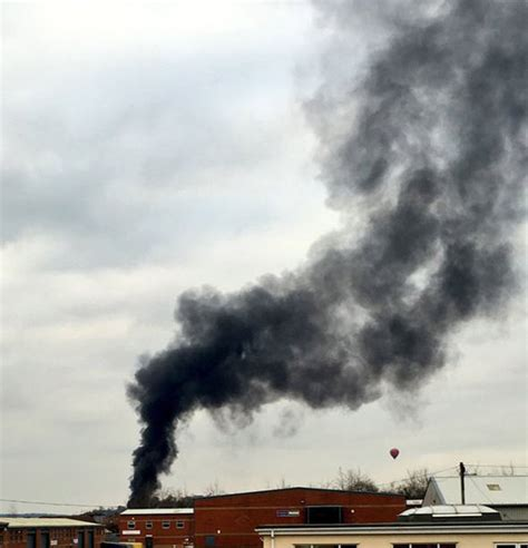 grantham fire huge blaze   station  widespread