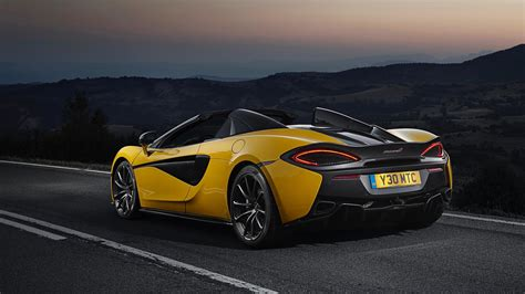 Review Mclaren 570s 2018 mclaren 570s spider review