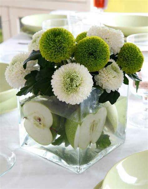 Blumen Tischdeko Im Glas by Frische Ideen F 252 R Tischdeko In Gr 252 N Und Wei 223