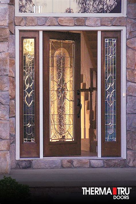 therma tru fiberglass doors 1000 images about classic craft oak collection on