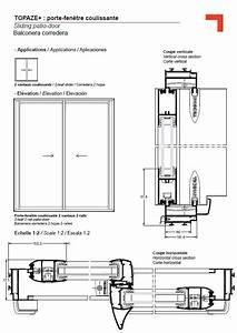 Plan Porte Coulissante : porte fen tre coulissante d tail technique floor plans ~ Melissatoandfro.com Idées de Décoration