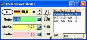 Mehrwertsteuer In Excel Berechnen : mehrwertsteuer mit kleinem tool schnell berechnen gif ~ Themetempest.com Abrechnung