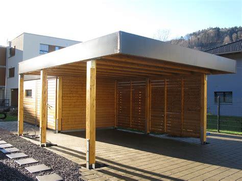 Carport Holz Modern by News