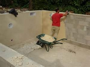 enduit beton wikiliafr With enduit pour piscine beton