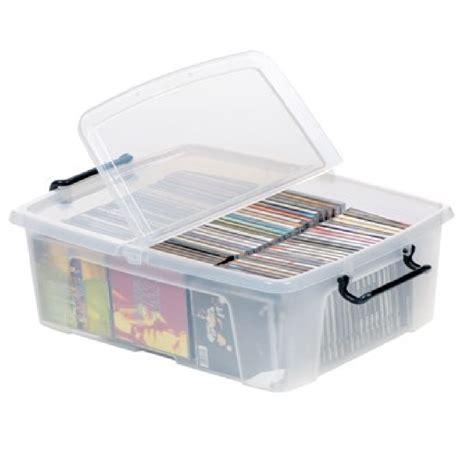 storage box buy 24lt strata smart plastic storage box with clip on lid
