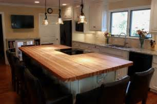 wood kitchen island top wood top kitchen island kitchen traditional with butcher block hickory counter beeyoutifullife