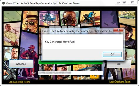 Grand Theft Auto 5 Pc Beta Key Generator