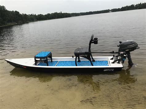 Pelican Flats Boats For Sale by Pelican Ambush 13 For Sale Sold Microskiff Dedicated
